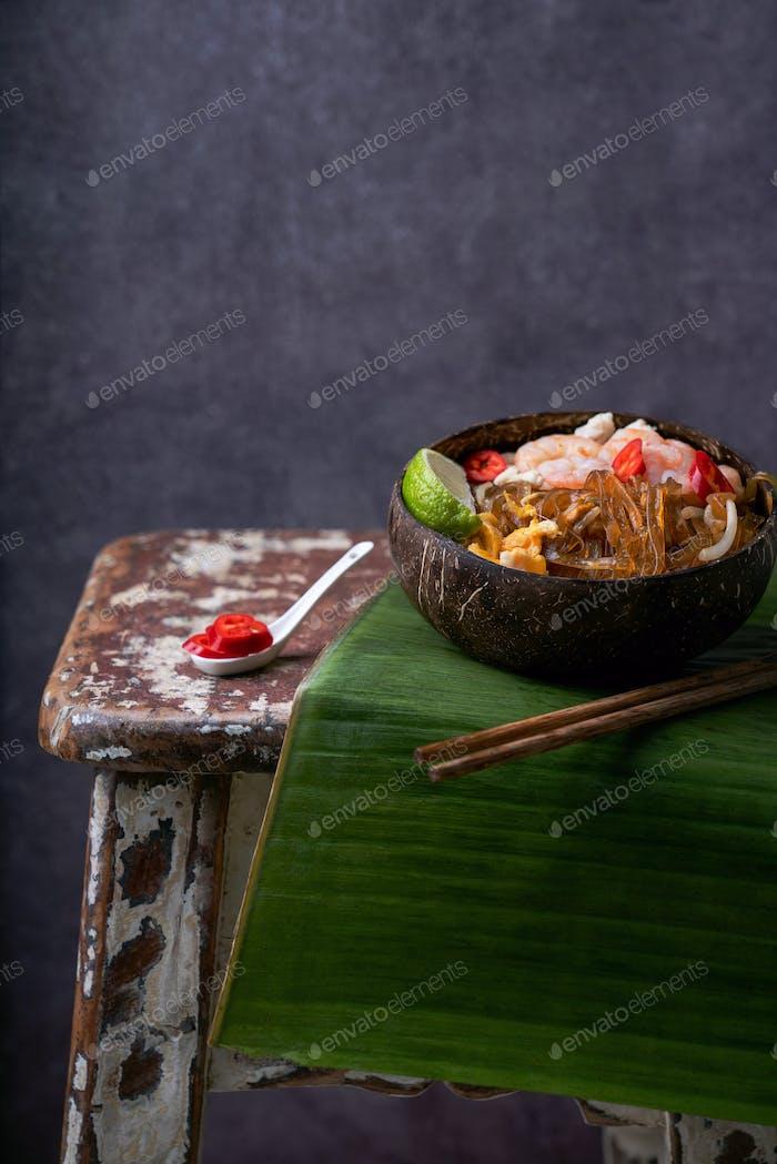 """Traditional Thai Noodles """"Pad Thai"""""""