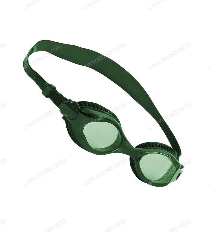 Swim Glasses isolated