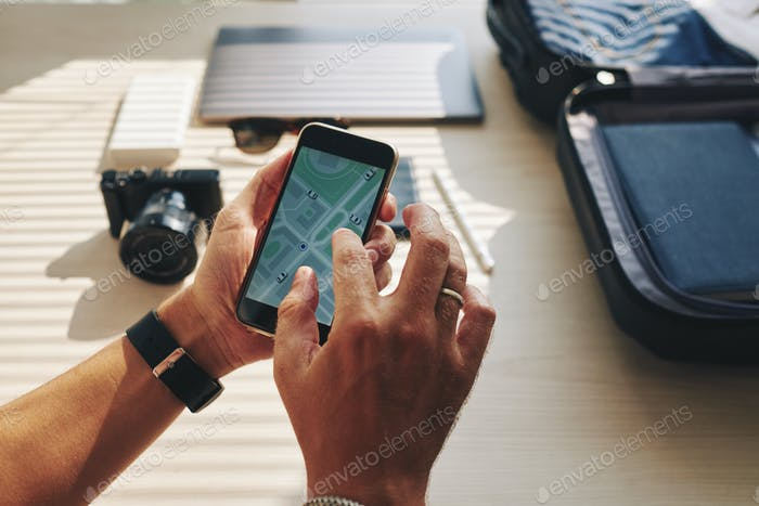 Navigator in the phone