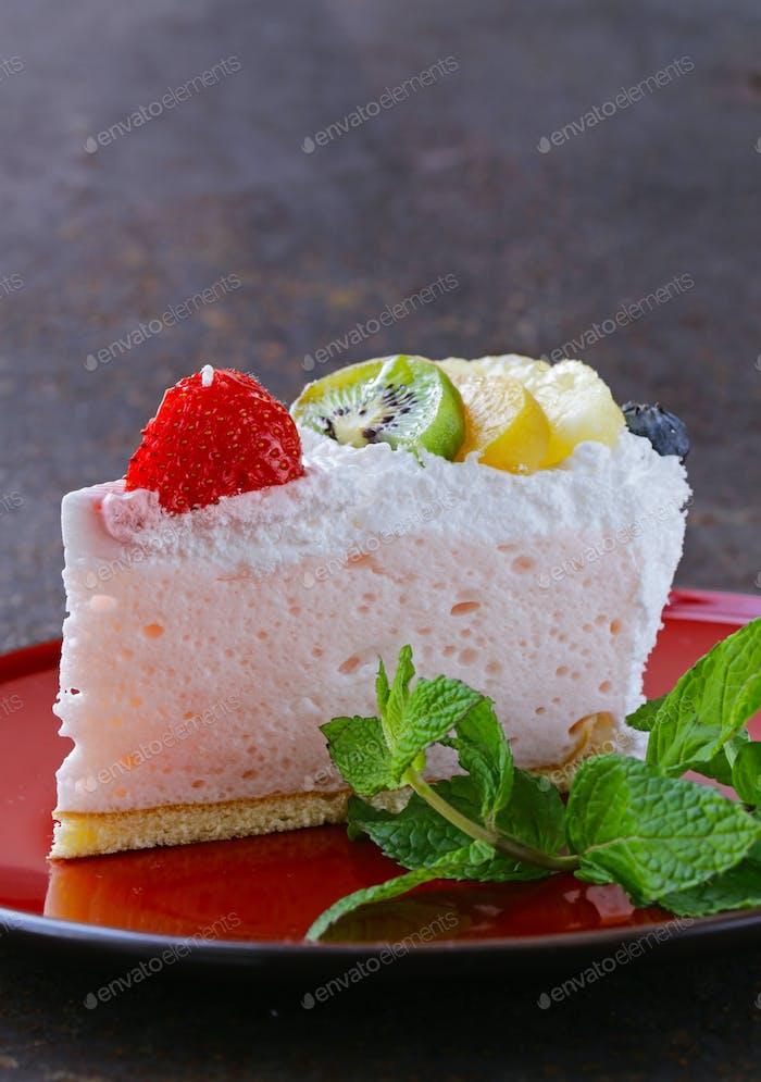 Piece Of Dessert Festive Cake