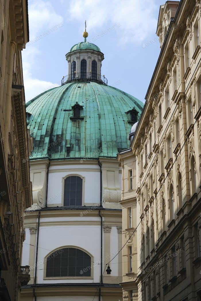 St. Peters's church in Vienna