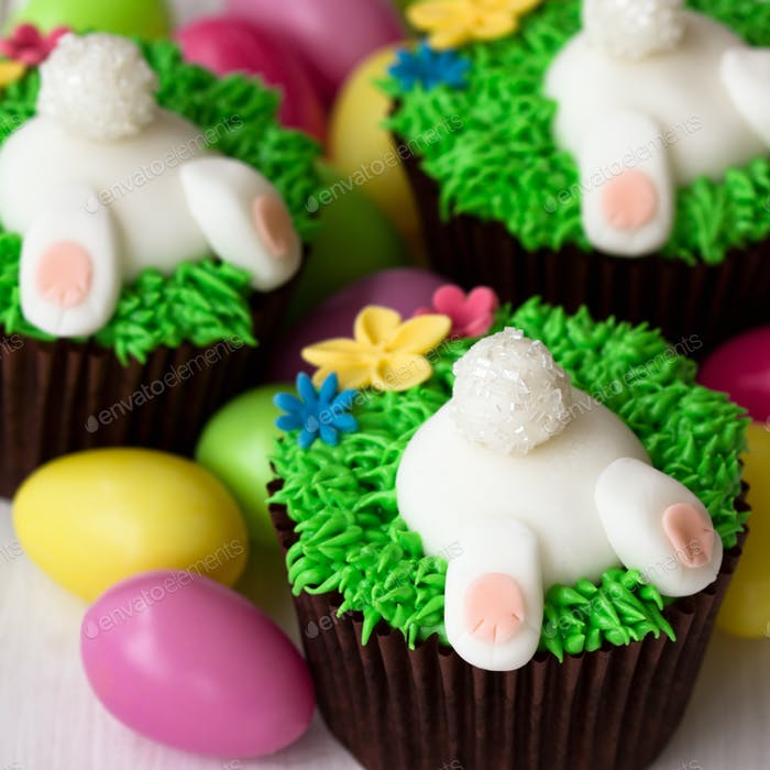 Osterhase Cupcakes
