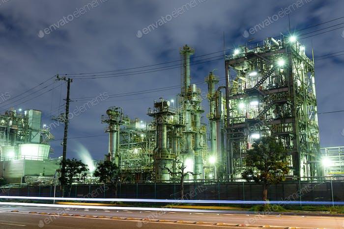 Petrochemische Ölraffinerie Fabrik