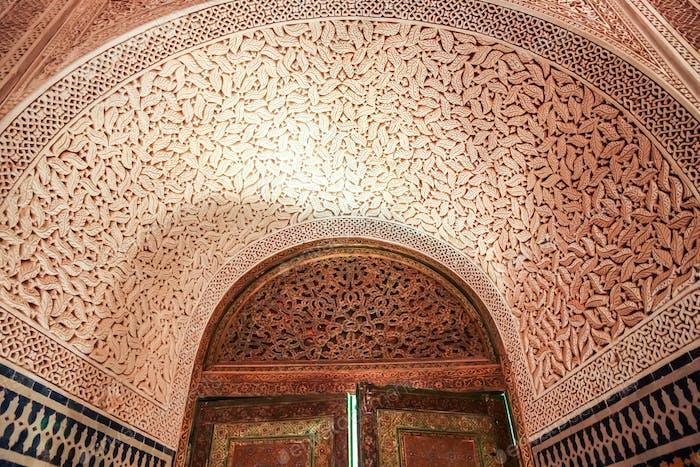 Telouet Kasbah Interieur
