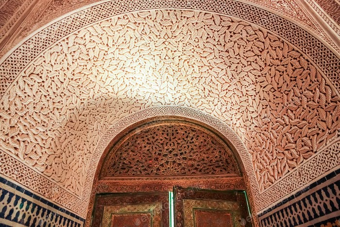 Telouet Kasbah interior