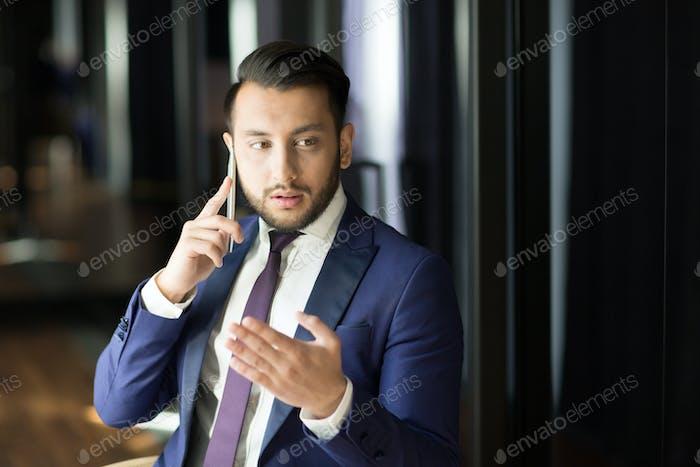 Reicher Geschäftsmann