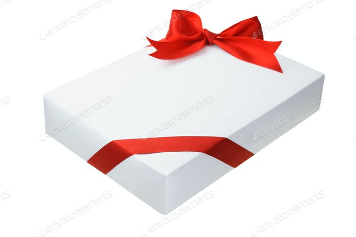 Rechteckige Geschenkbox