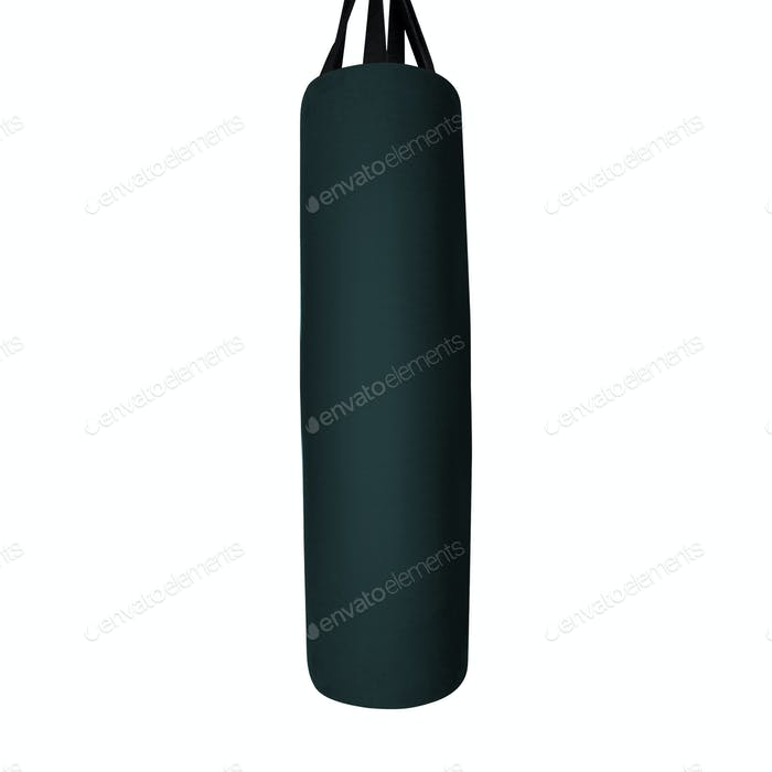 Big leather punching bag