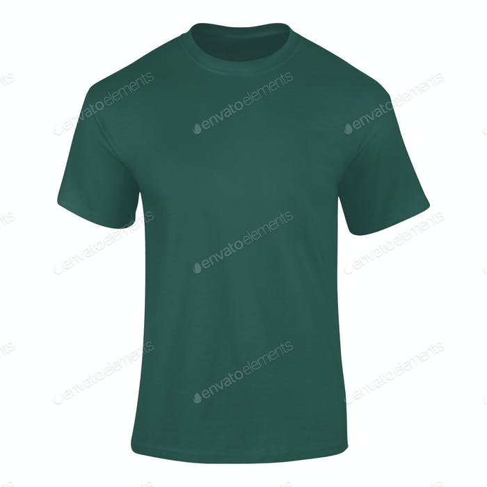 Men's Blank Green Shirt