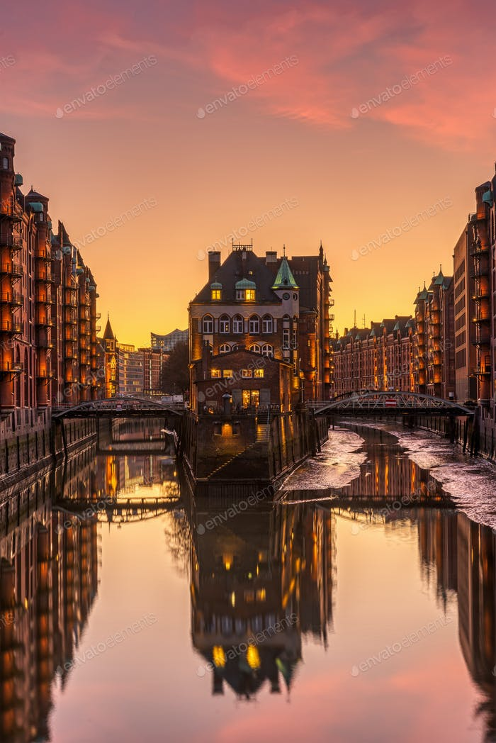 Thumbnail for The old Speicherstadt in Hamburg