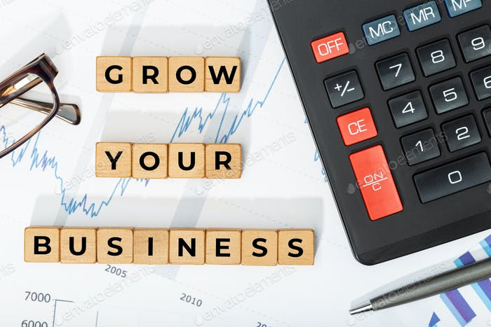 Grow your business concept