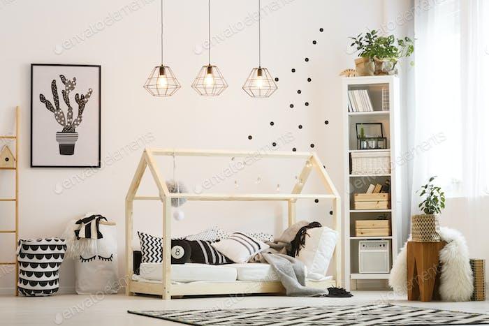 Eco friendly child bedroom