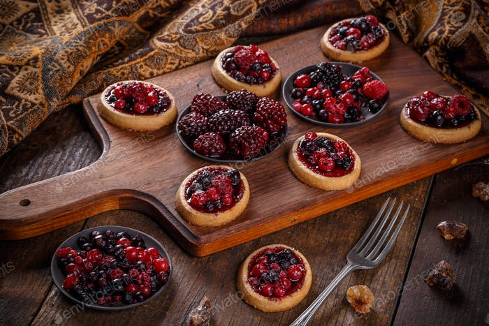 Shortcake pies
