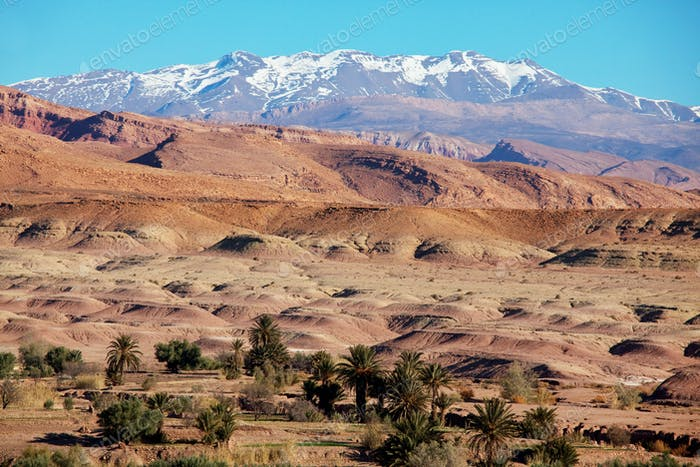Mountains in Morocco