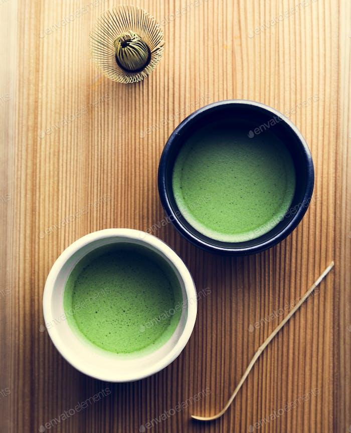 Japanese oriental matcha