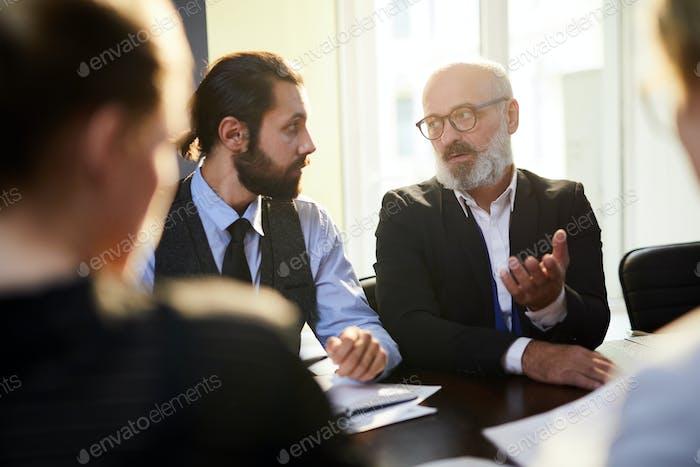 Talk at briefing