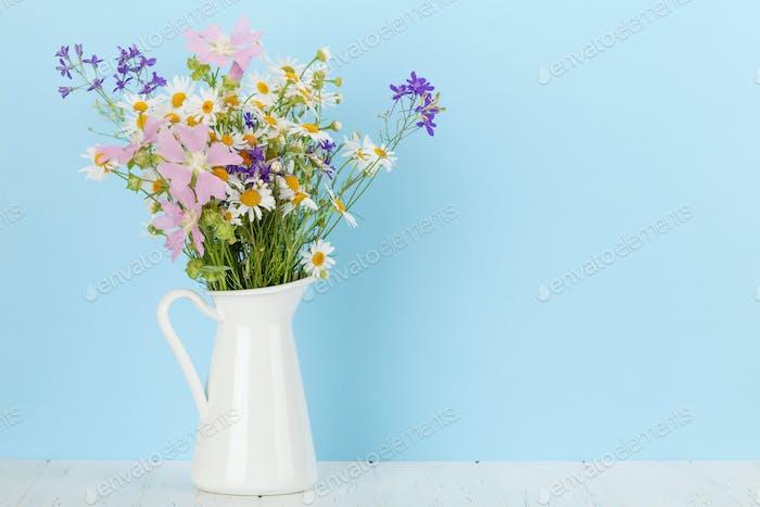 Gartenblumen Blumenstrauß