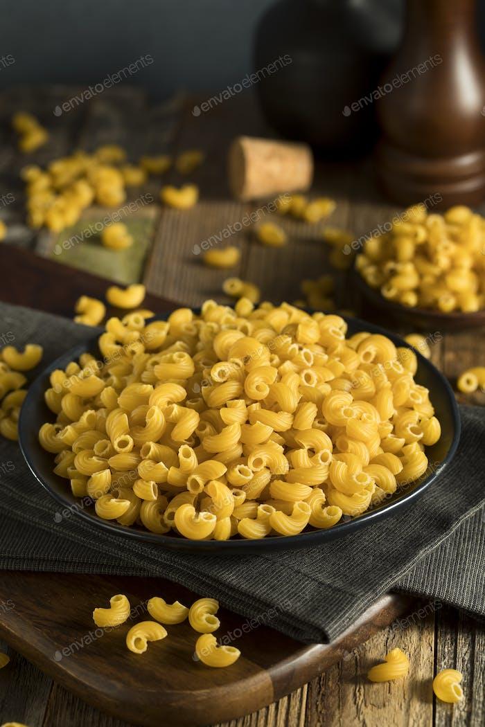Raw Organic Elbow Macaroni