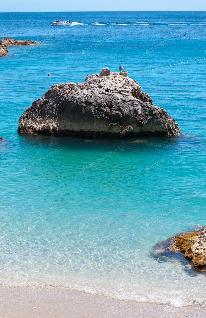 Marina Piccola in Capri Island, Italy