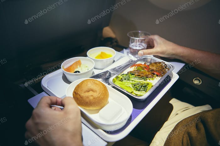 Dinner in economy class