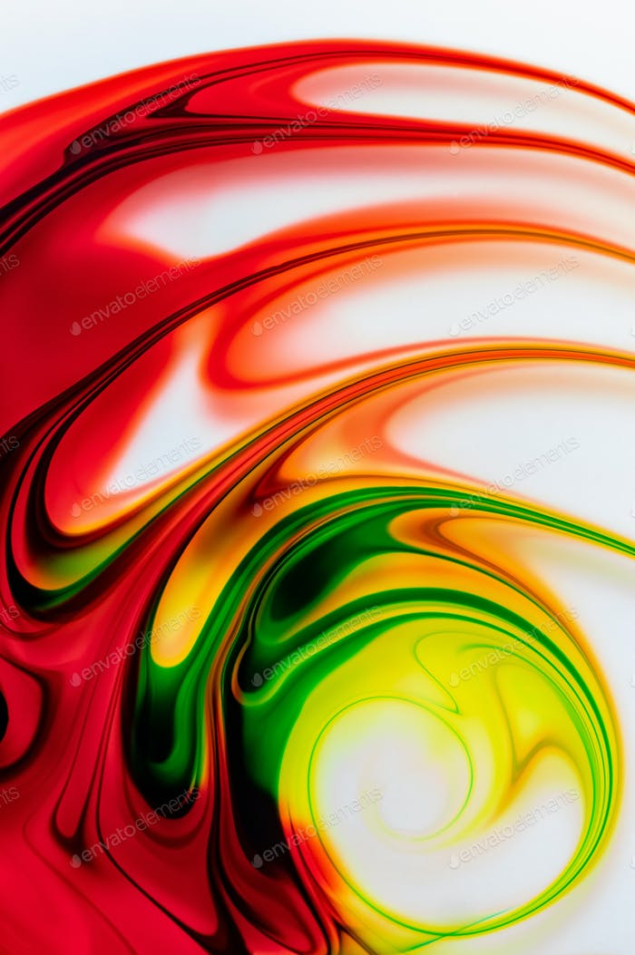 The colorful design of the abstract background