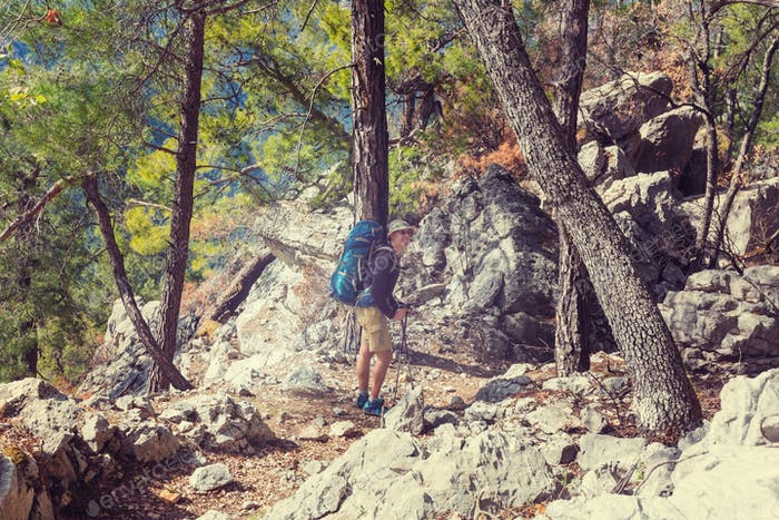 Hike in Turkey