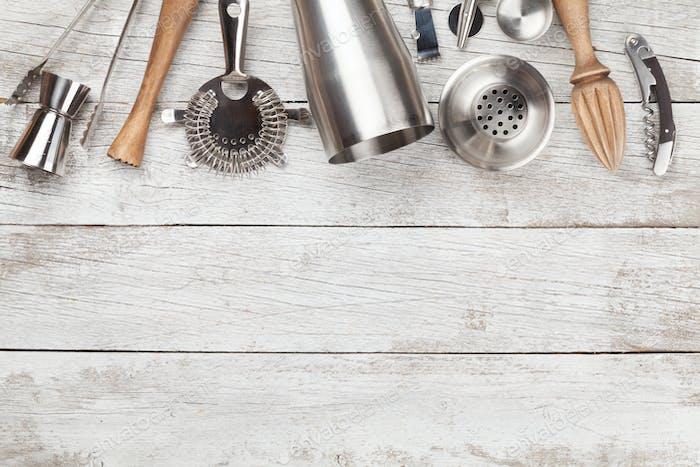 Коктейльная посуда. Набор инструментов для стержней