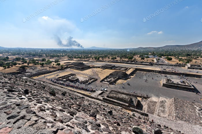 Valley of the Dead. Teotihuacan, Mexico