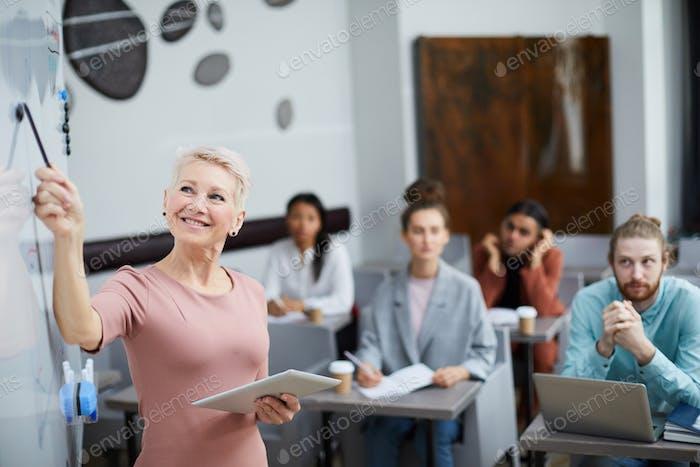 Mature Female Teacher
