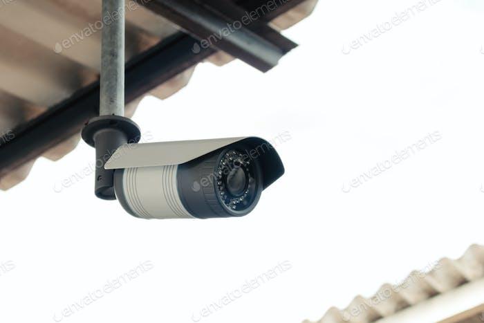 Tecnología de protección de seguridad de cámaras CCTV.