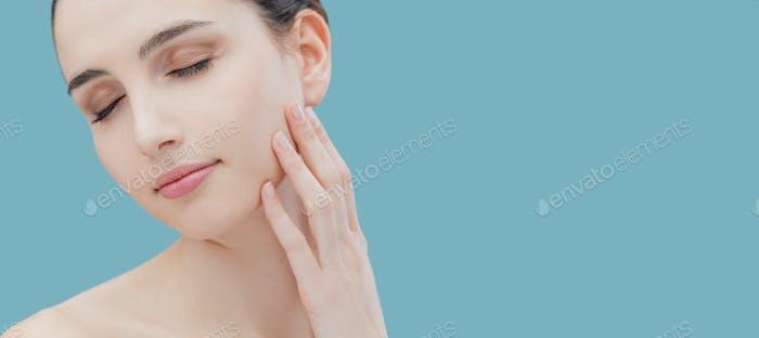 Schönheit und Hautpflege