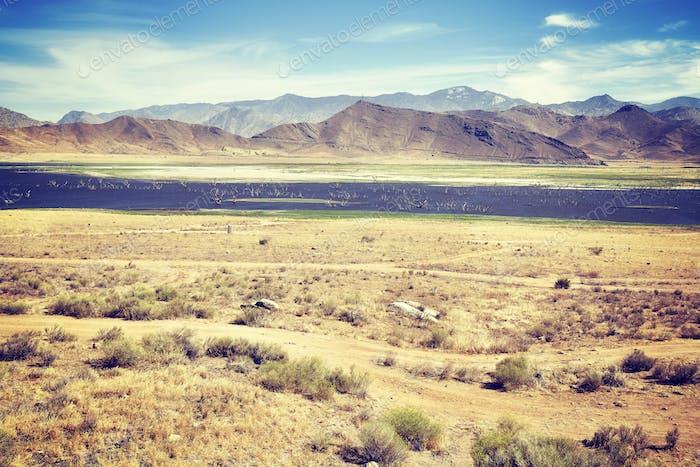 Death Valley National Park landscape, USA