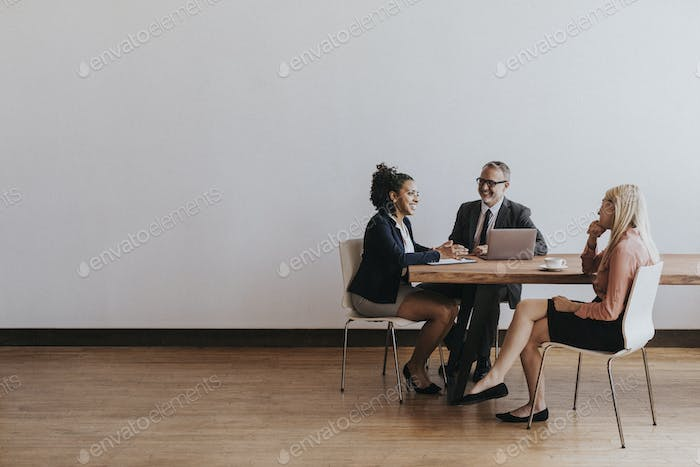 Business people discussing in a meeting room