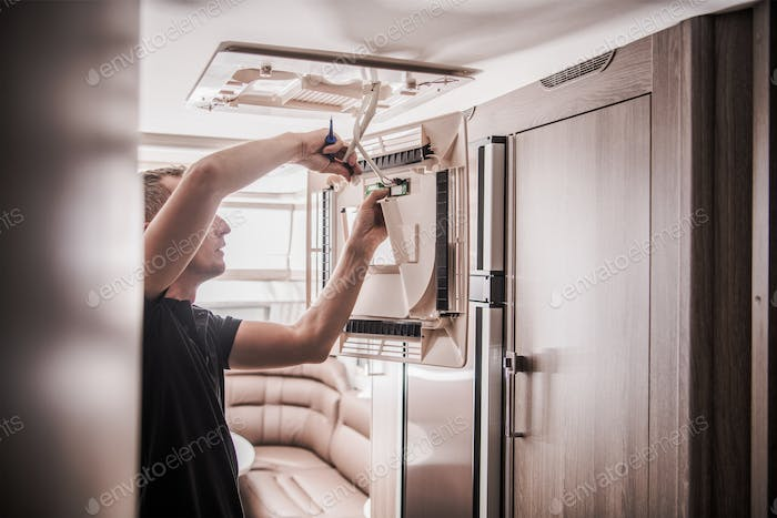 Broken RV Air Condition