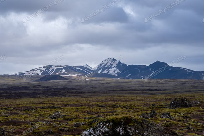 Landschaft des Nationalparks Thingvellir, Island