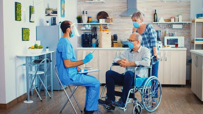 Patientententemperatur prüfen