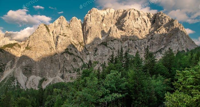 Mount Prisojnik Summer Vista