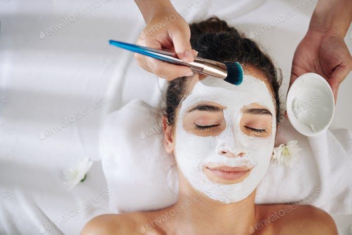 Peeling und Verfeinerung Gesichtsmaske
