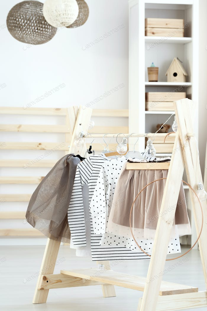 Baby room with DIY furniture