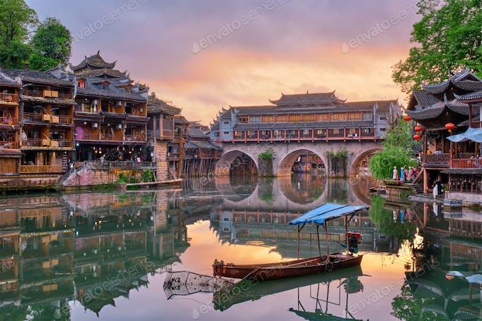 Feng Huang Ancient Town (Phoenix Ancient Town) , China