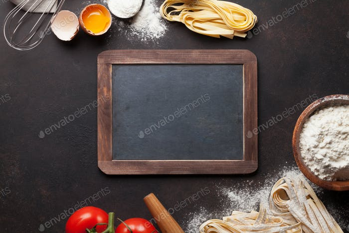 Pasta cooking ingredients