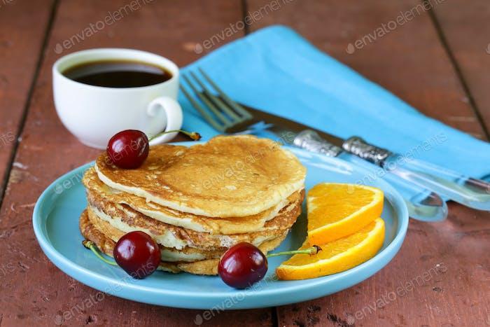 Sweet Dessert Pancakes