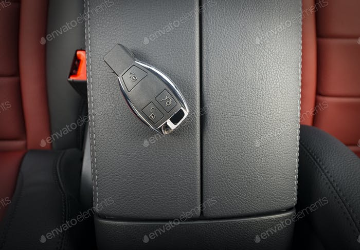 Modern Sport Car Key