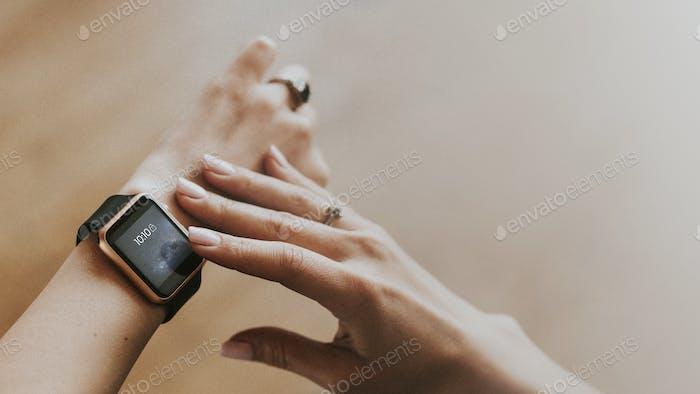 Aplicación Smartwatch en el gimnasio