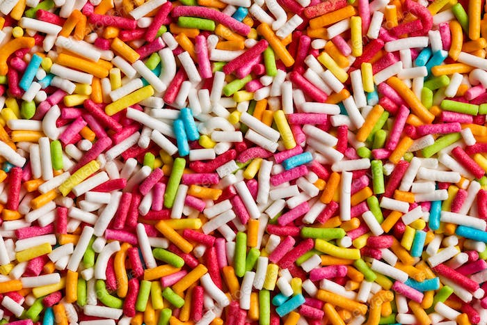 texture of candy sprinkles