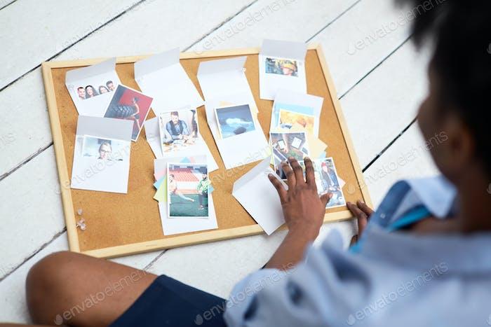Photos in envelopes