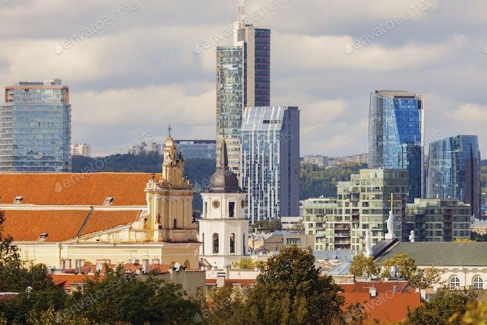 Architecture of Vilnius