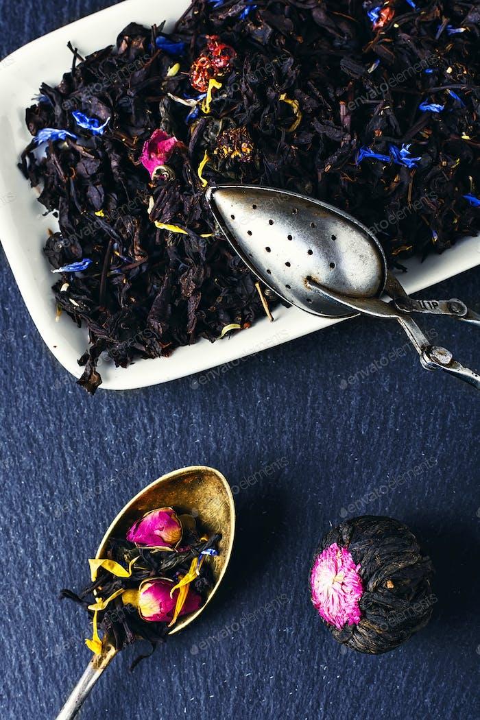 Sorten von Tees