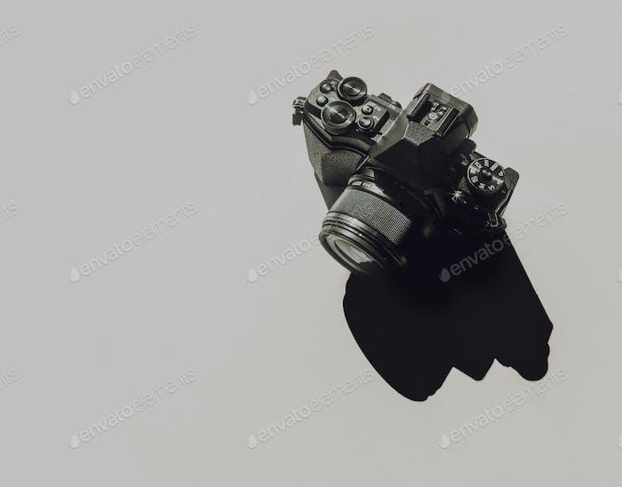 Kamera und Schatten