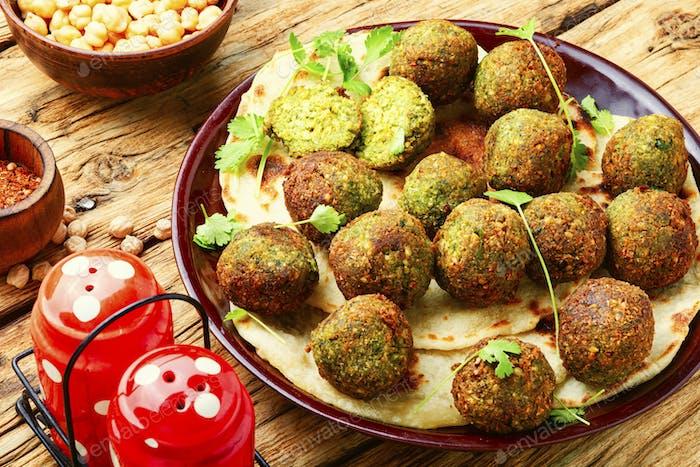 Falafel,vegan Israeli food